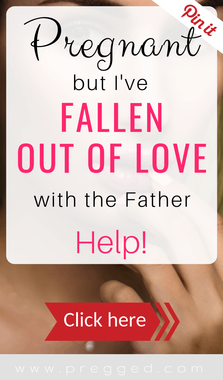 You're Pregnant but Fallen out of love with Your Partner. It happens a lot but what should you do? Should you tell them?