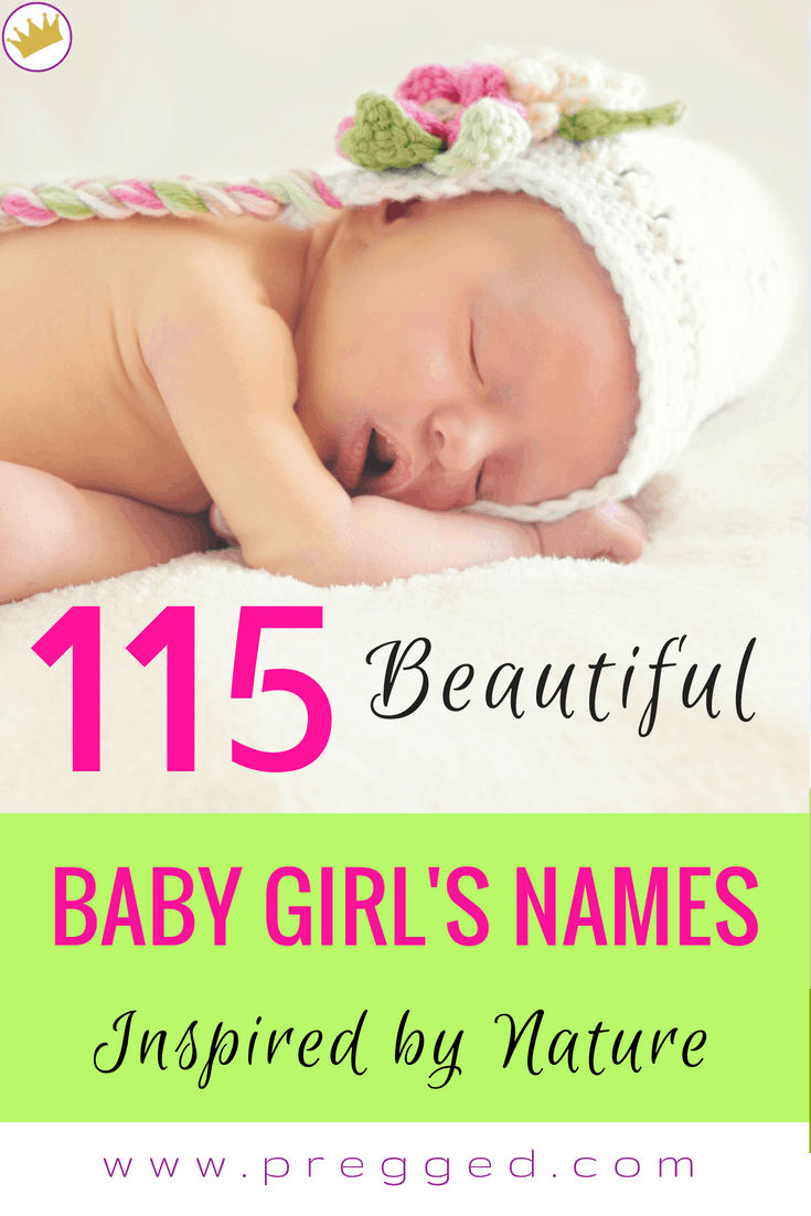 115 Beautiful Baby Girl's Names Inspired by Nature