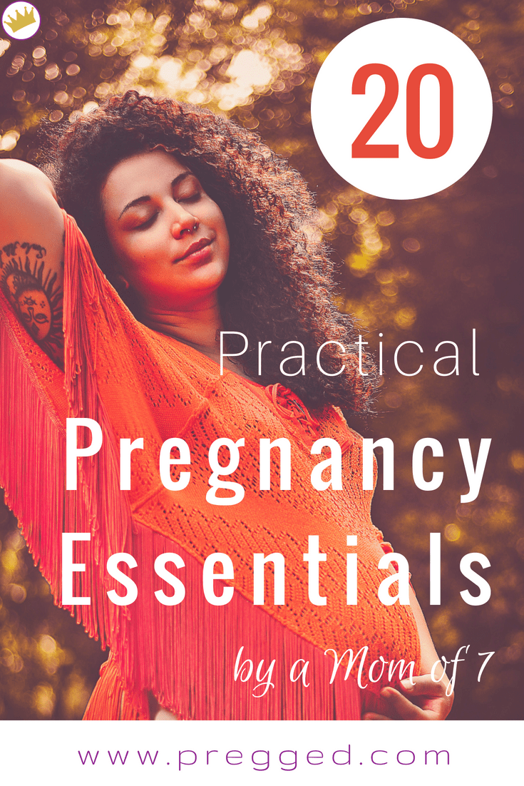 20 Practical Essential Pregnancy Products