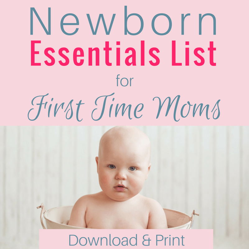 First Time Mom's Guide to Buying for Baby