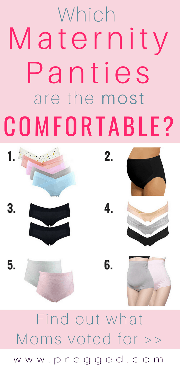 Which of these 6 maternity panties have been voted the most comfortable and gernally all round the best to wear - during pregnancy and postpartum?? Find out now >>