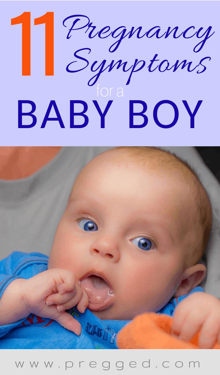 11 Pregnancy Symptoms For a Baby Boy - Pregged.com