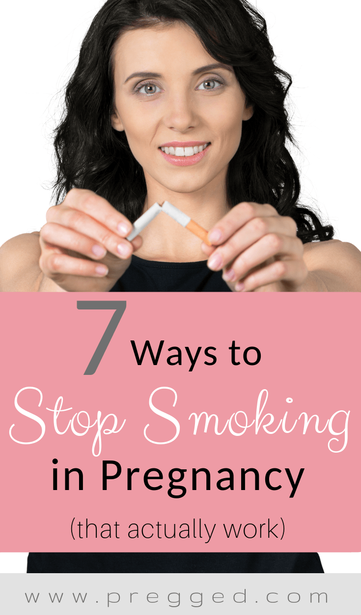 Pregnant and REALLY want to quit smoking? Some moms to be seem to be able to stop straight away without any problems, but many others really struggle. Find out what the best (and easiest) ways to stop smoking in pregnancy are. Plus we bust some pregnancy smoking myths too