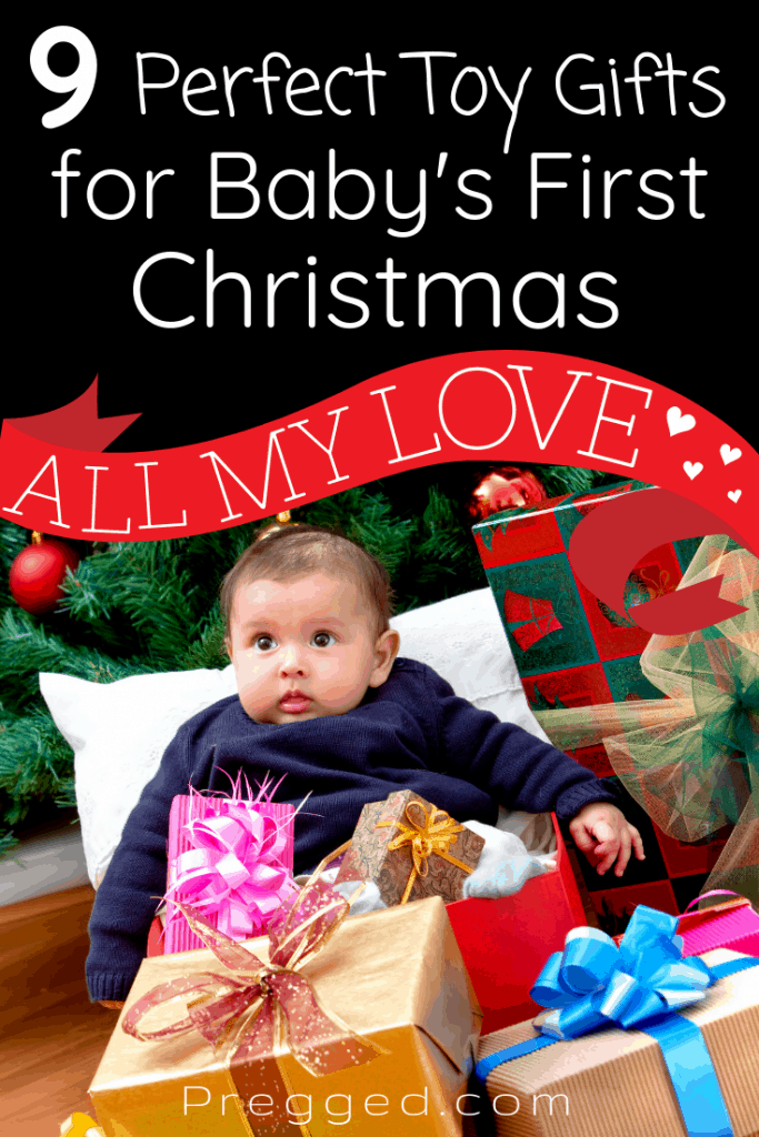 What toys would baby love for their first Christmas? What will they play with for months on end? These 9 baby toys are guaranteed to bring fun, thrills and excitement AND help baby's development too