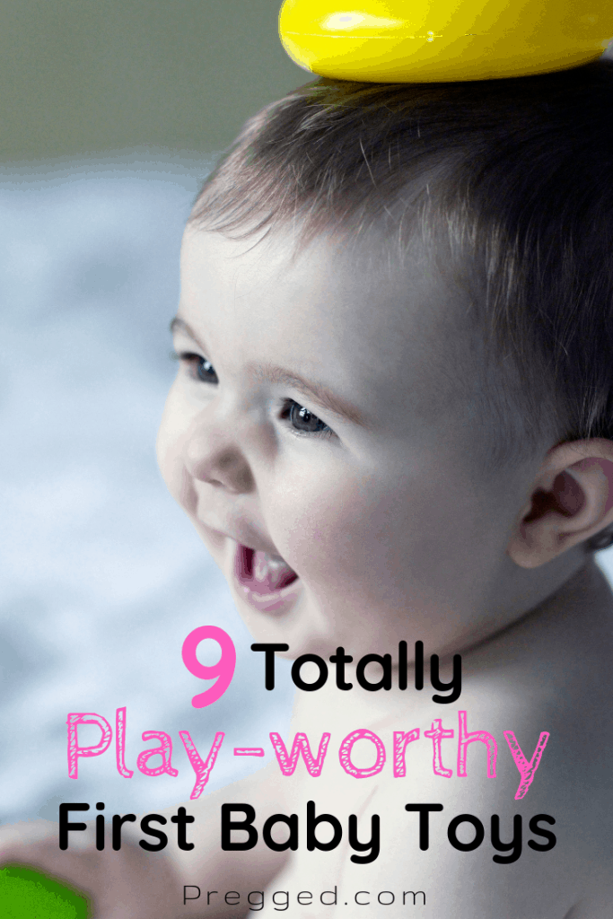 Which first toys would baby love to play with? What will they play with for months on end? These 9 baby toys are guaranteed to bring fun, thrills and excitement AND help baby's development too #babytoys #babygifts #baby #babyshower