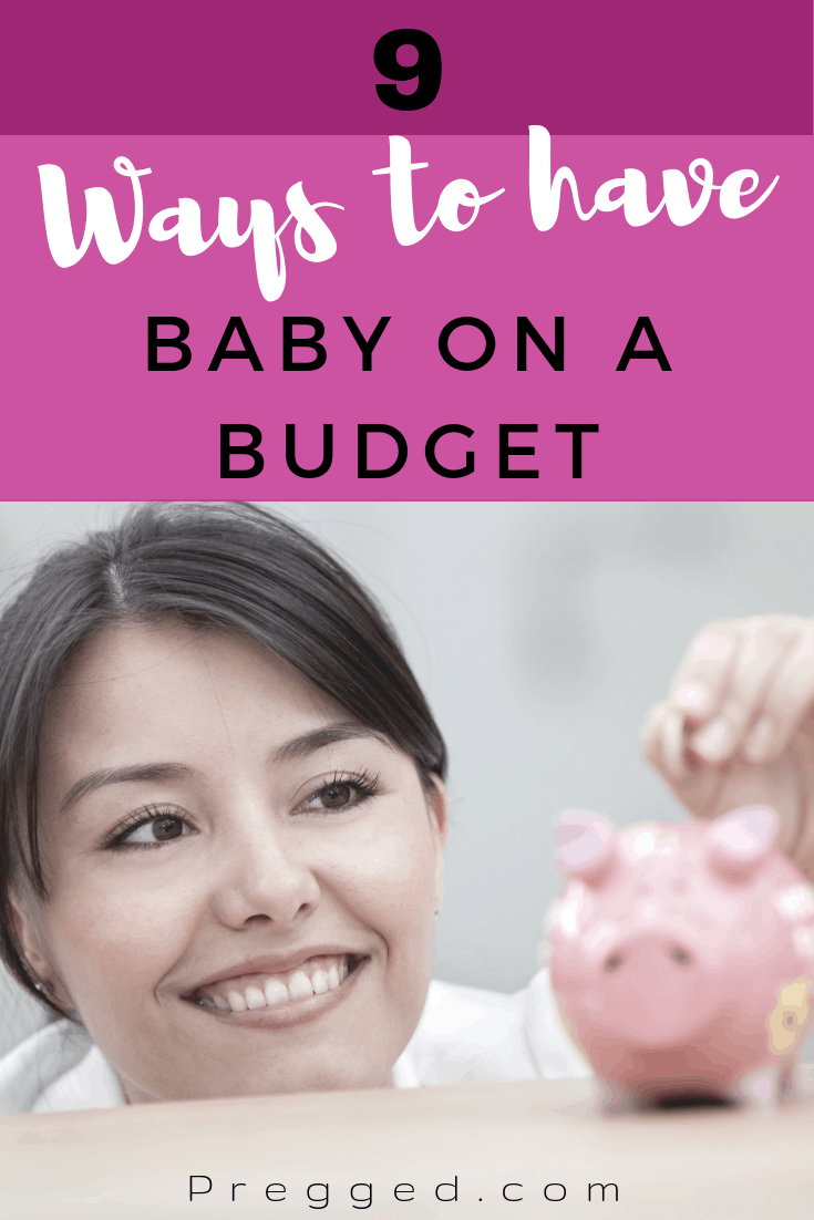 When You Want a Baby But Cash is Tight What Can You Do? You Really DON't Have to Give Up Your Dreams of a Family. Here are 9 Easy Ways to Save $$$$ and have your baby on a budget that doesn't see them going without...#pregnancy #baby #frugal #minimalist #budget