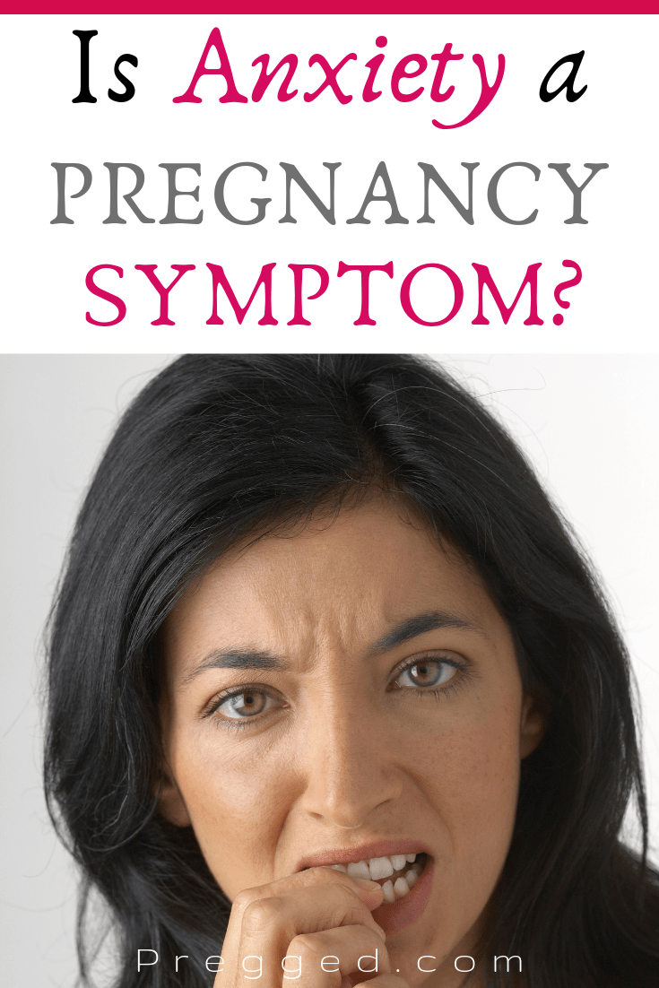 Is a feeling of anxiety a pregnancy symptom? Find out here...#pregnancysymptoms #pregnancy #mentalhealth #anxiety