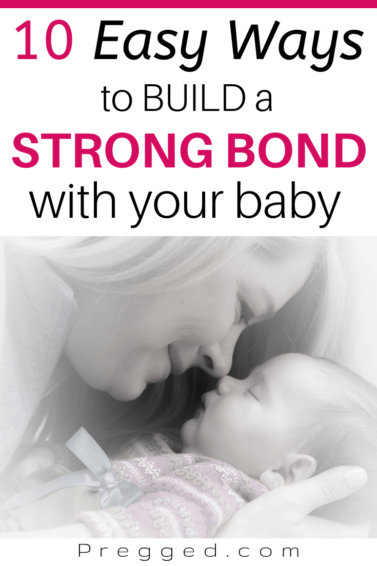 !0 Ways to Build a Rock Solid Bond with your Baby, Written by psychologist Nikki #momtobe #firsttimemom #baby #newborn #fourthtrimester